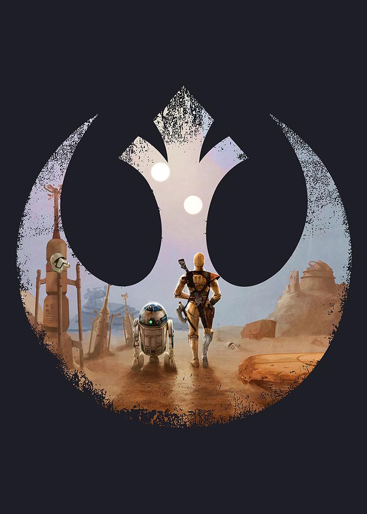 Fallout Droids Icon Dark