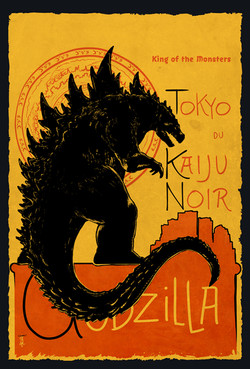Godzilla Kaiju Noir