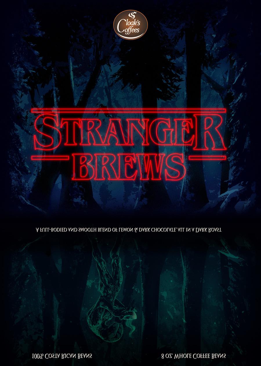 Cloak's Coffees - Stranger Brews
