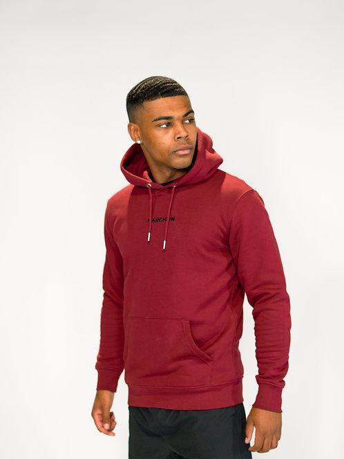 Burgundy Iconic Hoodie