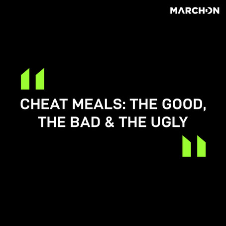 """Cheat Meals: The Good, The Bad & The Ugly"""