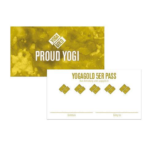 YOGAGOLD 5 PASS