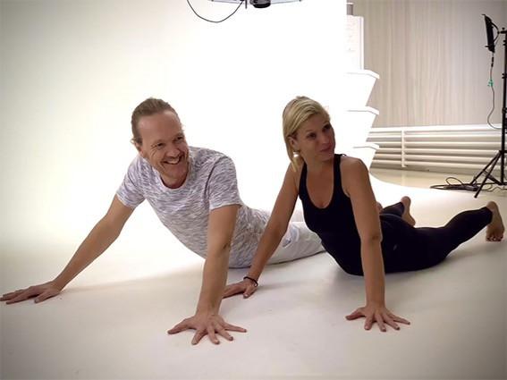Patrick Broome und Susen Gehle von Yogagold