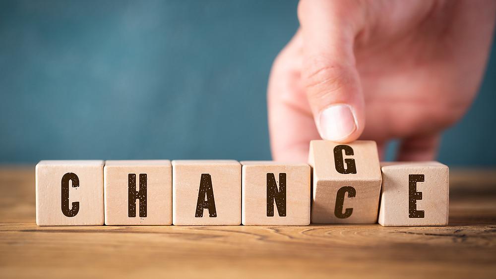 Jeder Wechsel ist auch eine Chance.