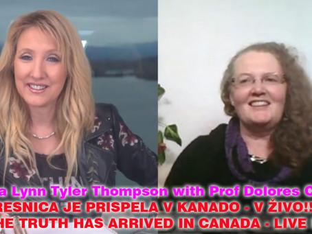 RESNICA PRIHAJA V KANADO!!! Laura Lynn Tyler Thompson V ŽIVO z našim angelom, prof. Dolores Cahill!