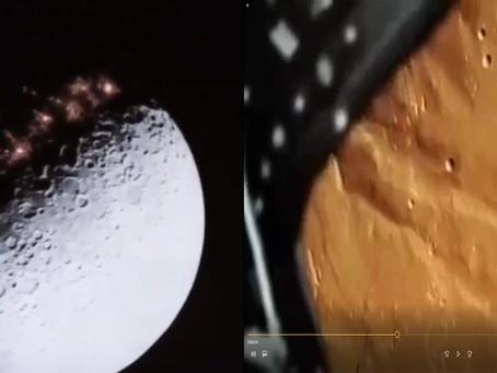 Posnetki temne strani Lune, ki sploh ni v temi in posnetki tajne civilne misije na Mars, leta 2011!