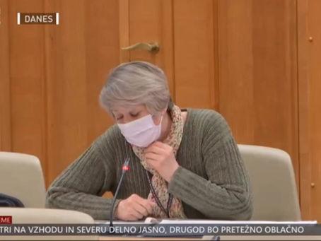 """dr. Biserka Ilin:""""Zdravniki nimamo dostopa do varnostnih študij, blokirane  pojasnitvene dolžnosti!"""""""