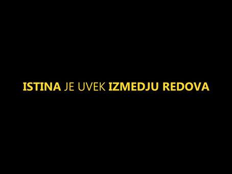 EKSPLOZIVNI INTERVJU S SRBSKIM ŠOFERJEM 2: KAJ JE V CEPIVU IN ZAKAJ, UVEDBA NOVE SVETOVNE UREDITVE!