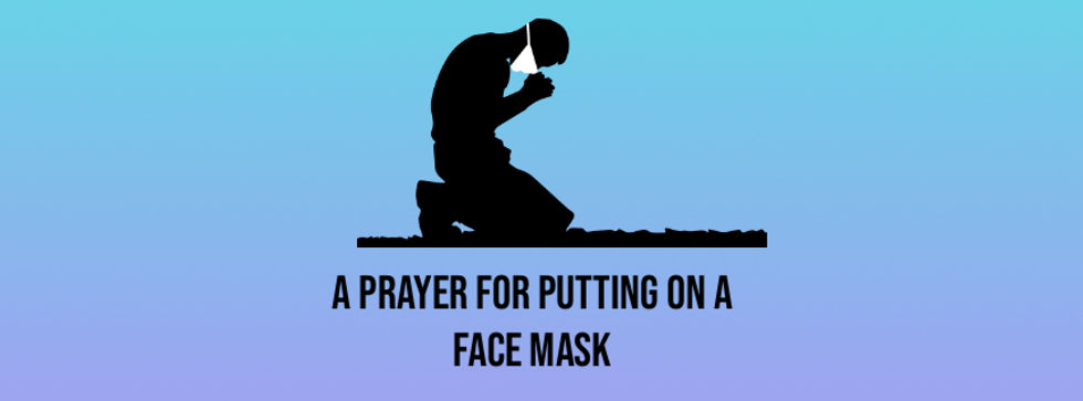 Copy of COVID 19 Pray for Health - Mask