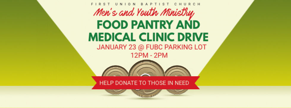 Copy of Thanksgiving Food Drive Banner -