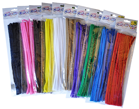 12 Inch Chenille Stems (SET OF 12)