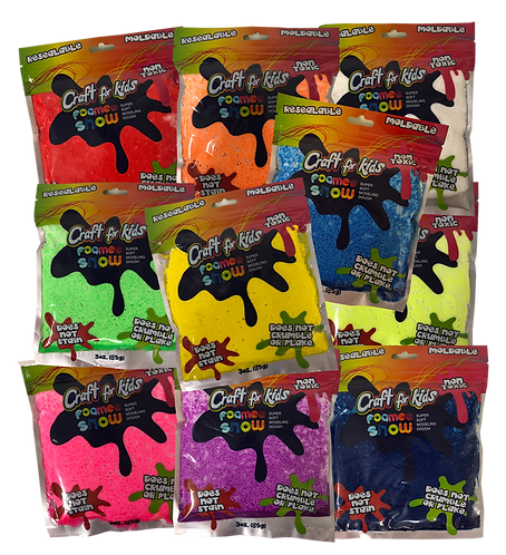 FOAMEE SNOW PUTTY (SET OF 12)