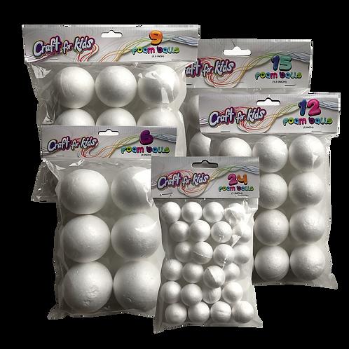 Stryofoam Balls (SET OF 12)