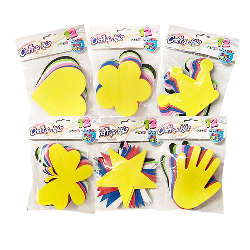 Foam Shapes (SET OF 12)