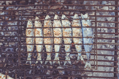Gegrillten Fisch