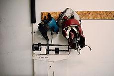 Cabeza de boxeo Protectores montado en l