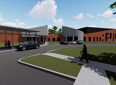 McDonald Hughes Community Center Renovations Underway