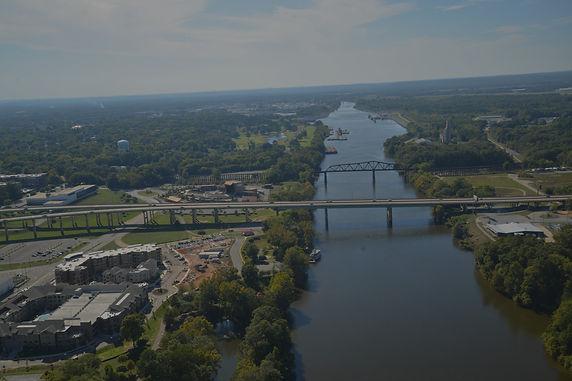 Aerial photo of Tuscaloosa