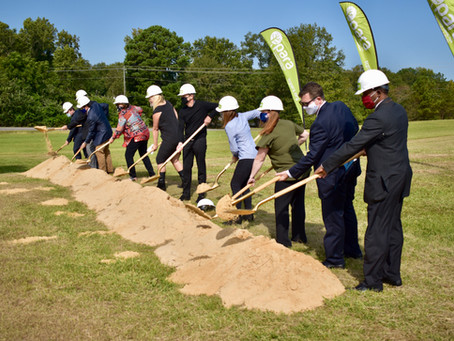 Ground Broken, Construction Set to Begin on All-Inclusive Playground