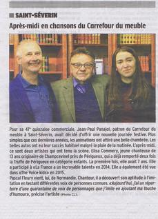 Charente Libre : 9 mars 2016