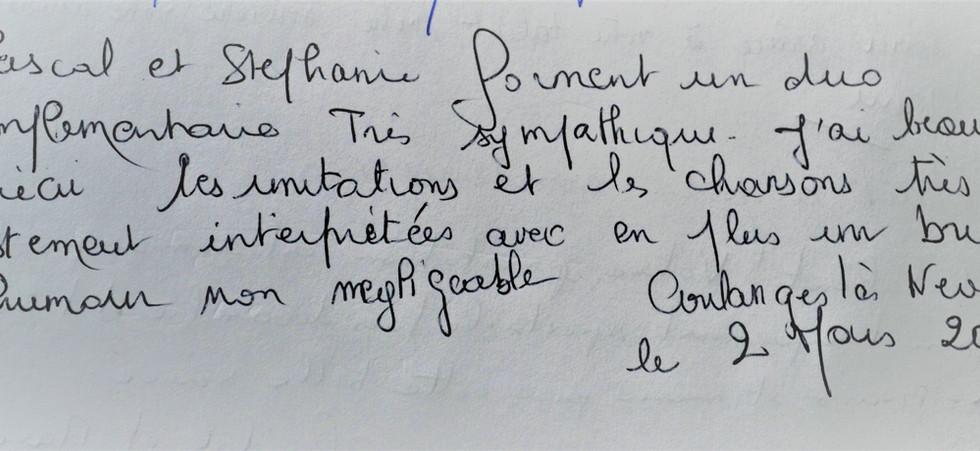 Coulanges-Les-Nevers (58), le 2 mars 2019