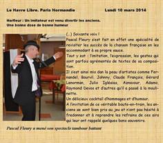 Le Havre libre, Paris Normandie : 10 mars 2014