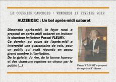 Le courrier Cauchois : 17 février 2012