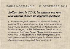 Paris Normandie : 12 décembre 2011
