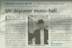 Paris Normandie (édition Dieppe) : 22 août 2013