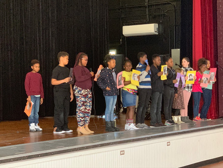 First Annual Black History Month Assembly