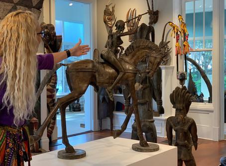 First Grade Visits African Art Museum