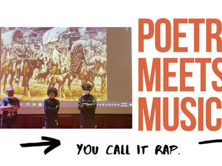 Poetry Presentation: Speaking Out Loud