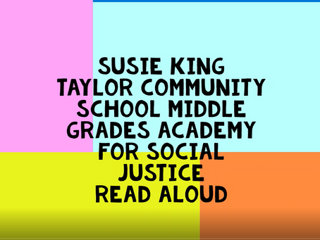 """Read aloud of """"Rosa"""" by Nikki Giovanni"""