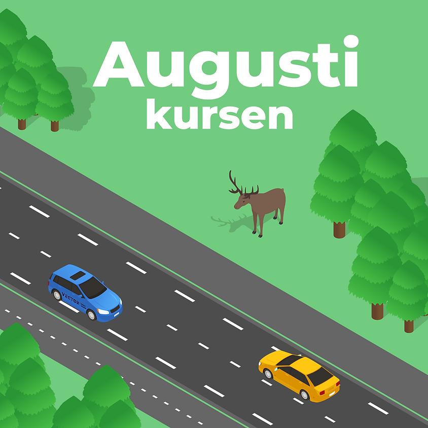 Kursstart Augusti