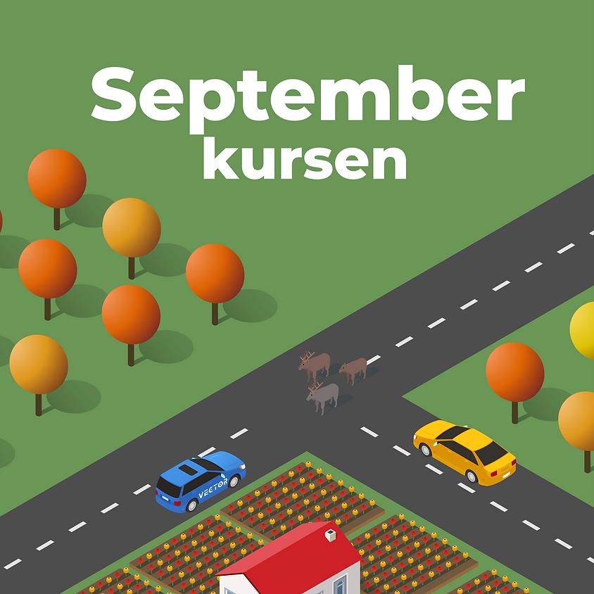 Kurstart September