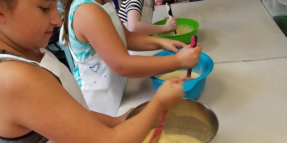 Spring Break Camp-Wednesday-Cake Craft