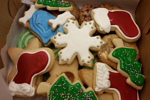 Christmas Holiday Cookie Tin