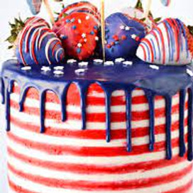 4th of July Cake Decorating Class