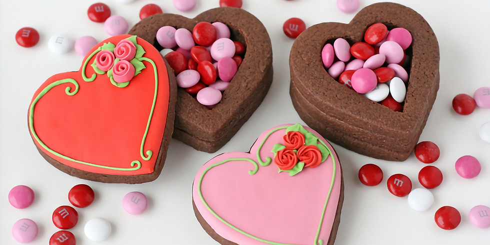Valentines Day Cookie Box Class Virtual