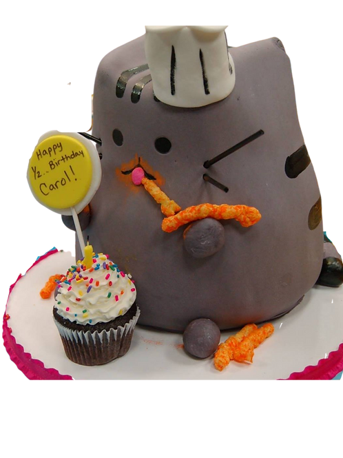 Pusheen the Cat Cake