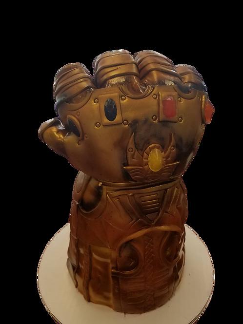 Thanos Gauntlet Cake