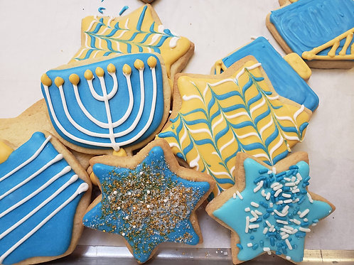 Hanukah Holiday Cookie Tin-Family