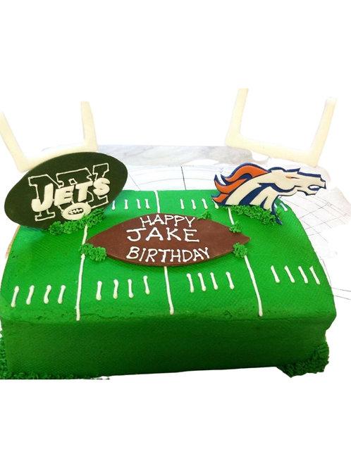 Football Field Cake