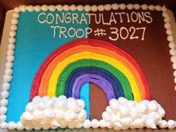 Scouts & Team Cakes