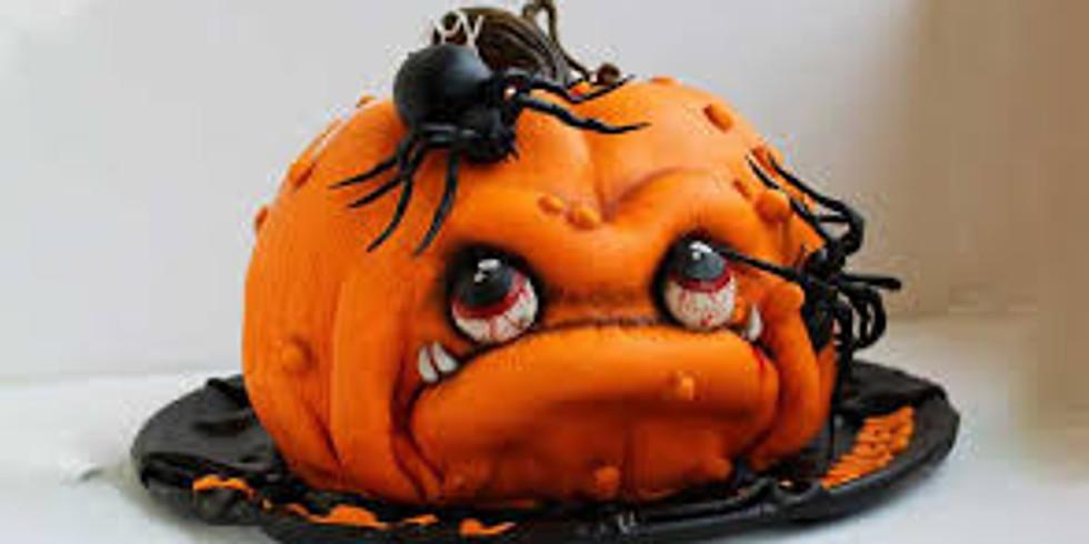 Ugly Pumpkin Cake Decorating Class