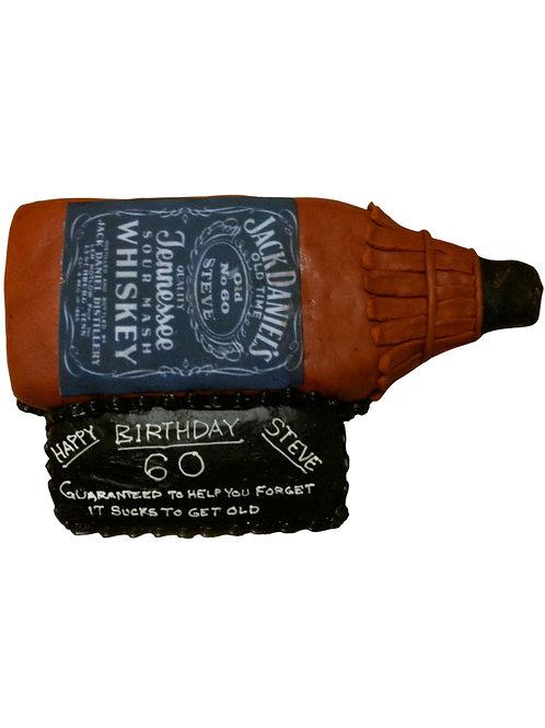 Liquor Bottle Cake