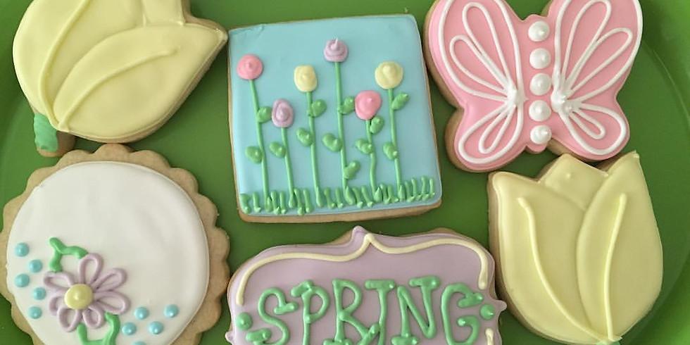 Spring Break Camp-Wednesday-Spring Sugar Cookies