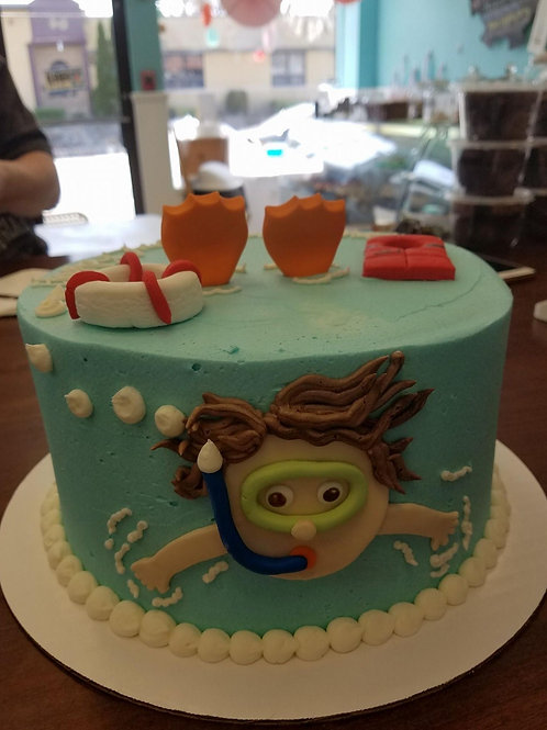 Swimmers Cake