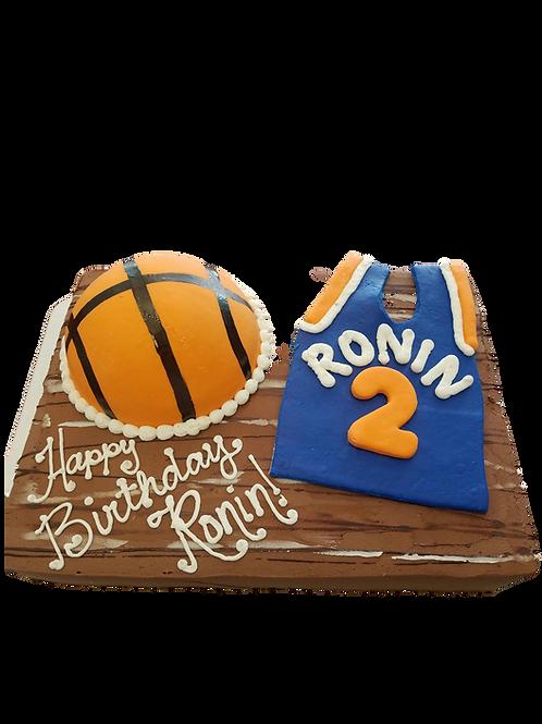 Basketball Team Spirit Cake