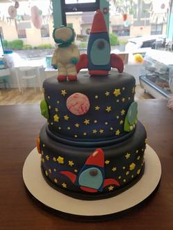 Space, Cake, astronaut